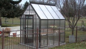 Cape Cod Triple Wall Polycarbonate Greenhouse